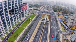杭州紫金港隧道和余杭塘路二期通车