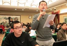 浙江在线记者提问