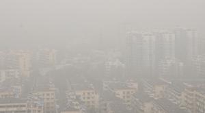 杭城雾霾重重 明天空气质量有望好转