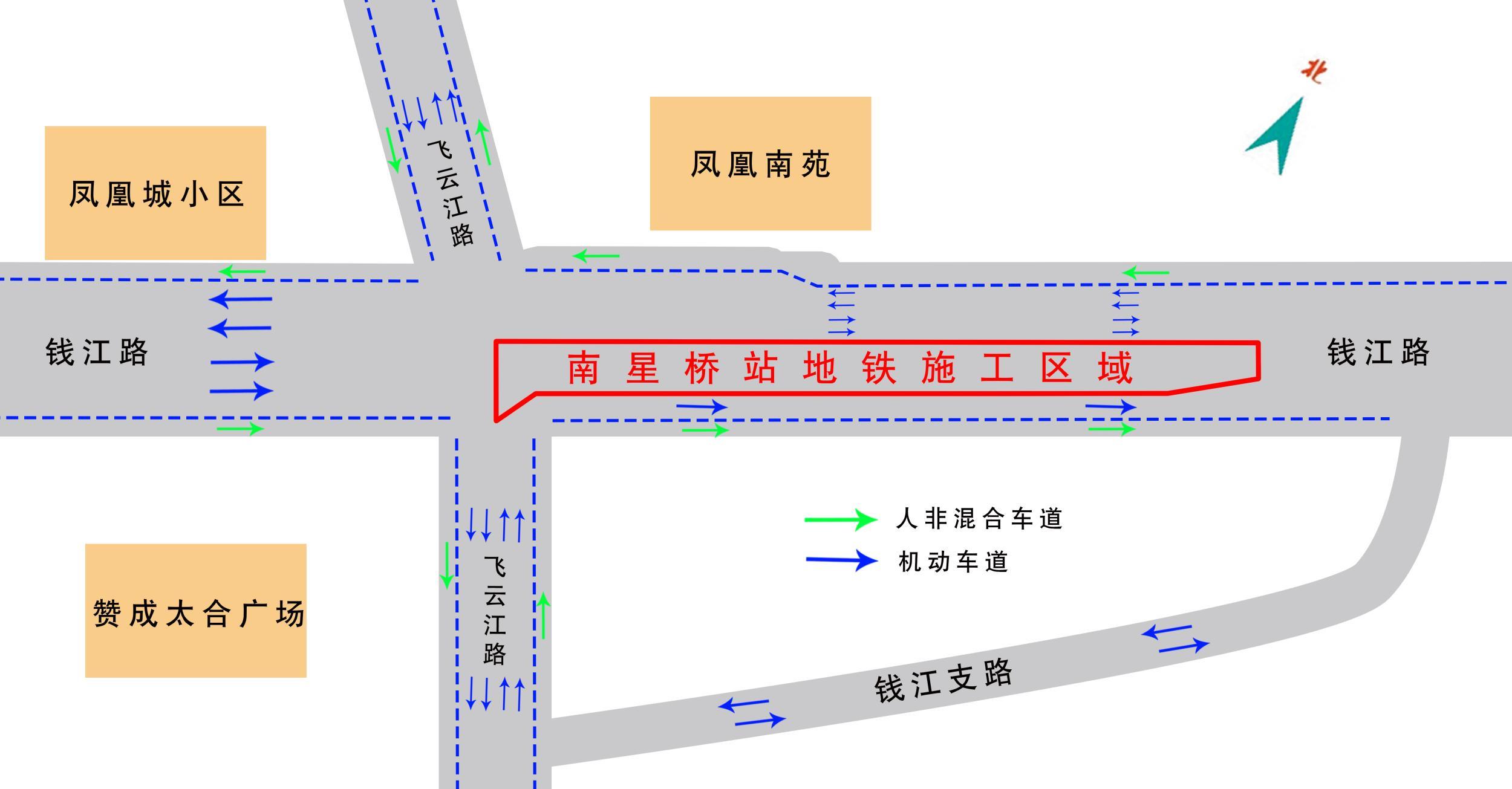 杭州图形4号线南星桥站开工首通段或2月上旬cad命令v图形地铁图片