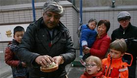 16国老外浙江农村体验过年
