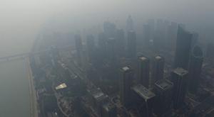 杭州雾霾卷土重来 蓝天再度远去