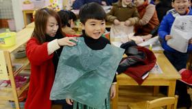 开学第一课 亲子环保时装秀