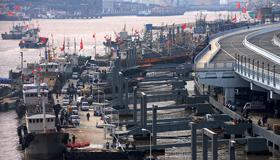 舟山国际水产城码头启用