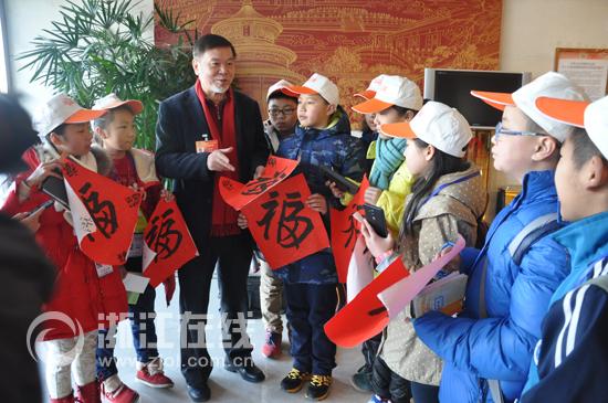 专访何水法:中国人就应该写好中国字