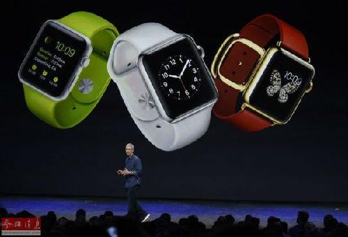 外媒:苹果手表深圳已现山寨版