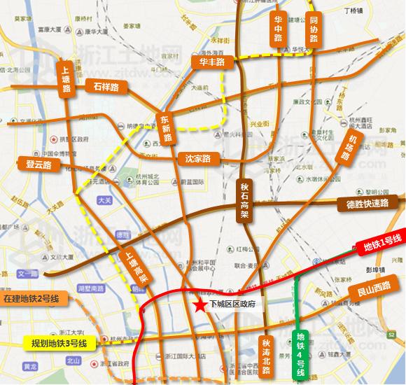 下城区是杭州市中心城区和市政府规划的中央商务区,自唐宋之后图片