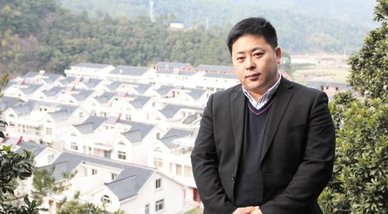 三门岩下潘村党支书潘健:变落后村为中国最美村镇