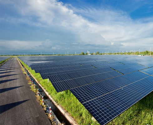 太阳能:是指太阳的热辐射能
