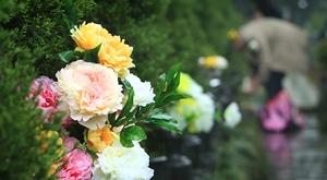 杭州:清明扫墓 鲜花祭祖成风尚