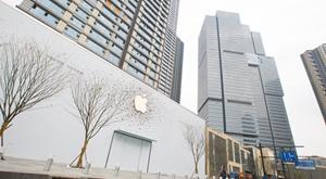 第二家Apple Store落户杭城