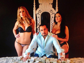 金钱和美女 伊朗富豪网晒奢靡生活走红组图