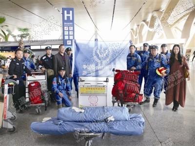北京28开户云南温州商会昨助力蓝豹救援队奔赴灾区驰援尼