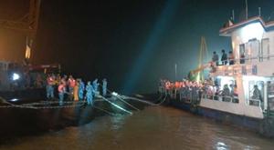 沉船已过去28小时 本网记者现场直击