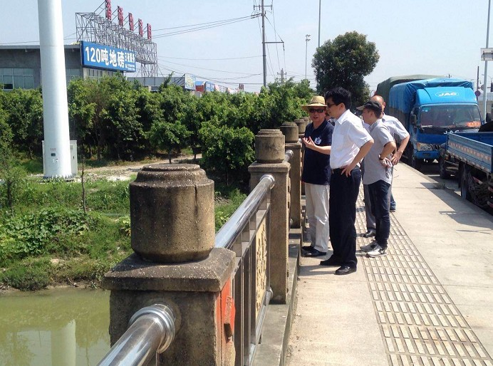 副市长任玉明赴瓯海潘桥督查底村河整治情况