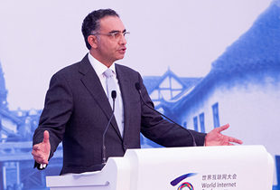 Fadi Chehade��China is embracing the world with an open mind