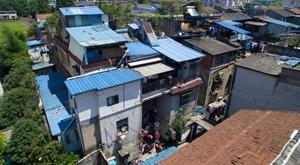 杭州闹市城中村 158幢农房塞4000多人
