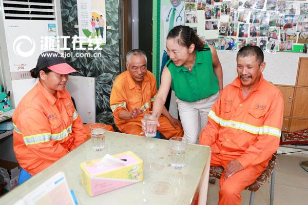"""认准这个标志 杭州的城市美容师从此有了新""""家"""""""