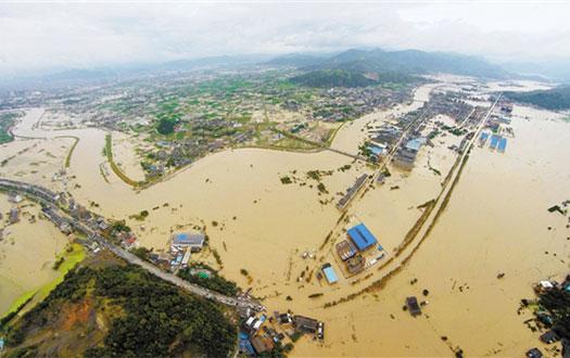 600毫米以上暴雨区域全在浙江境内 浙江因灾死亡14人