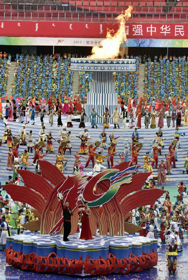 第十届全国少数民族传统体育运动会隆重开幕
