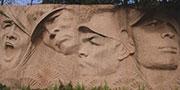 嘉兴:抗日嘉善阻击战纪念碑
