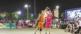 北仑霞浦:乡村篮球人气旺