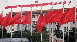北京进入阅兵时间 火红迎接胜利日
