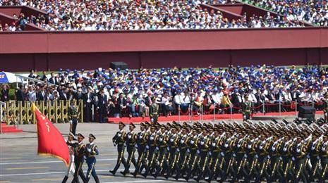 【回放】纪念抗战胜利70周年阅兵仪式