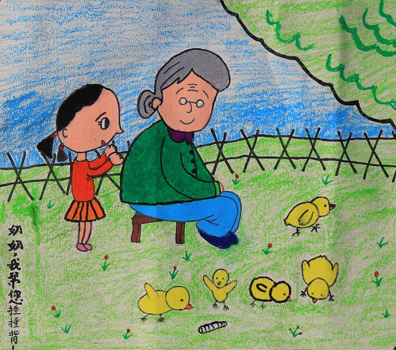 关于文明的简单画_关于文明的儿童画图片 百灵鸟图片简笔画 有关文明