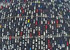 航拍高速路进京车流画面 拥堵似停车场