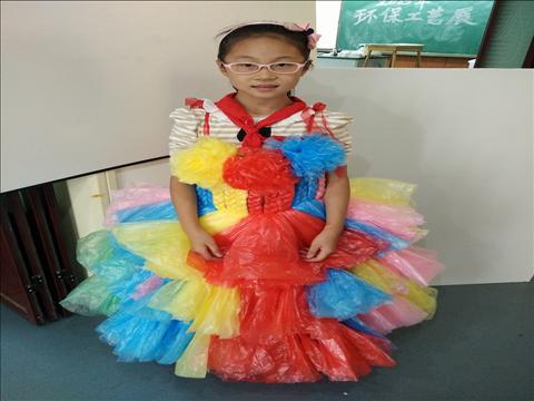 杭州市景华小学:低碳环保 废物利用图片