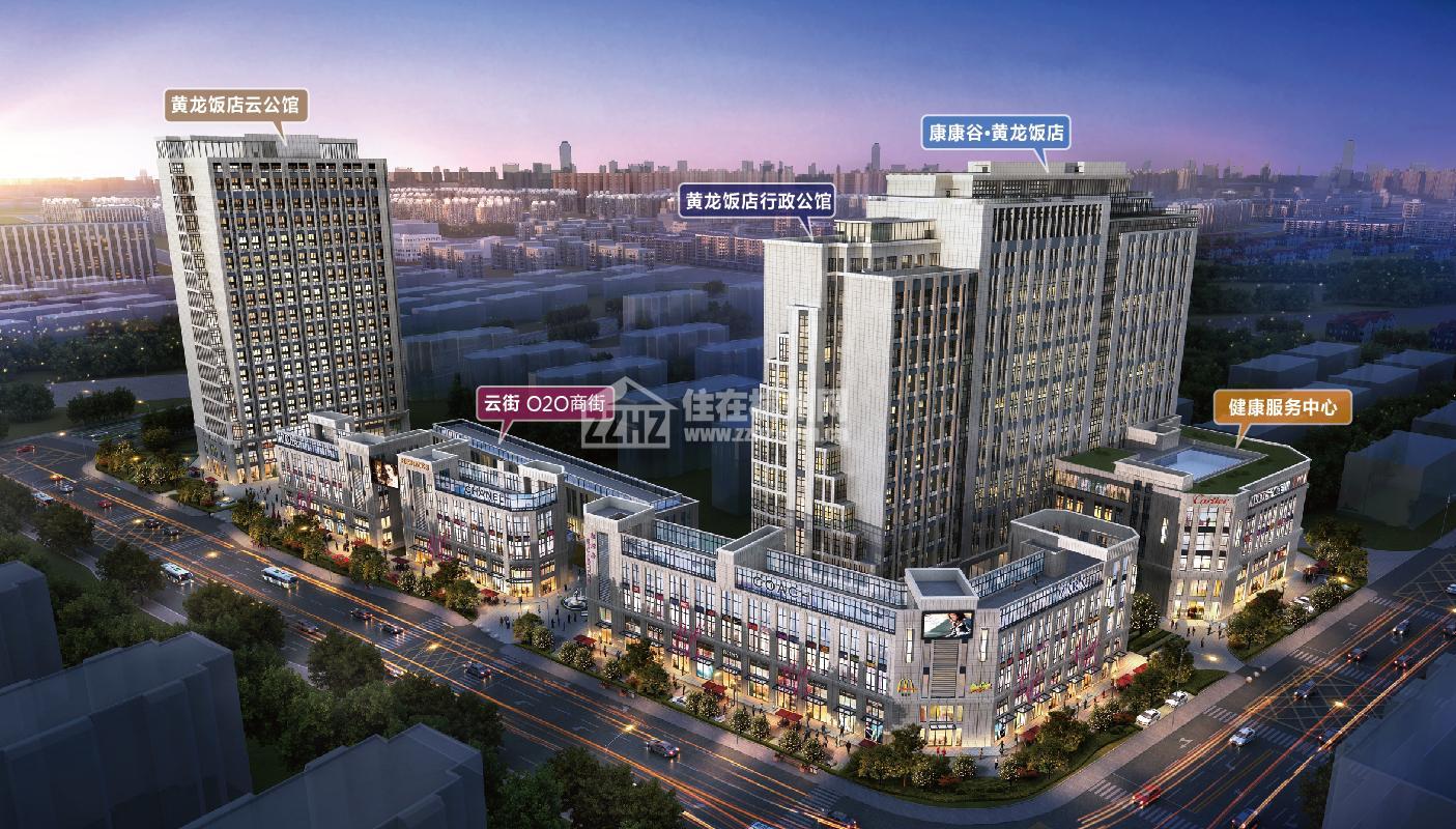 中赢康康谷:滨江核心区的云健康综合体