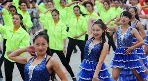 全国排舞跳最好的今天都在杭州