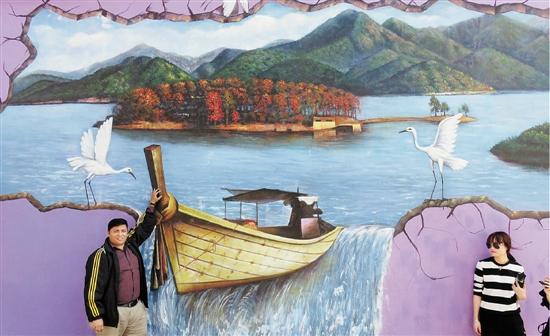 创意点亮类型v类型浦江前吴乡让童话调教山村乡村漫画化身图片