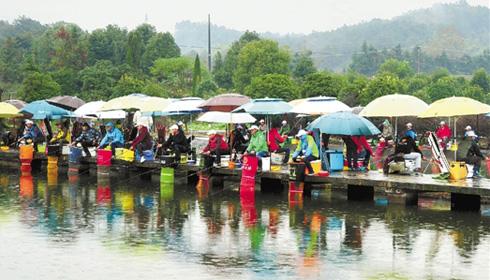 全国钓鱼邀请赛在武义举行