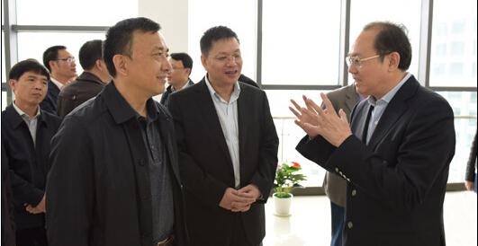 云南省委组织部来我省考察两新党建工作