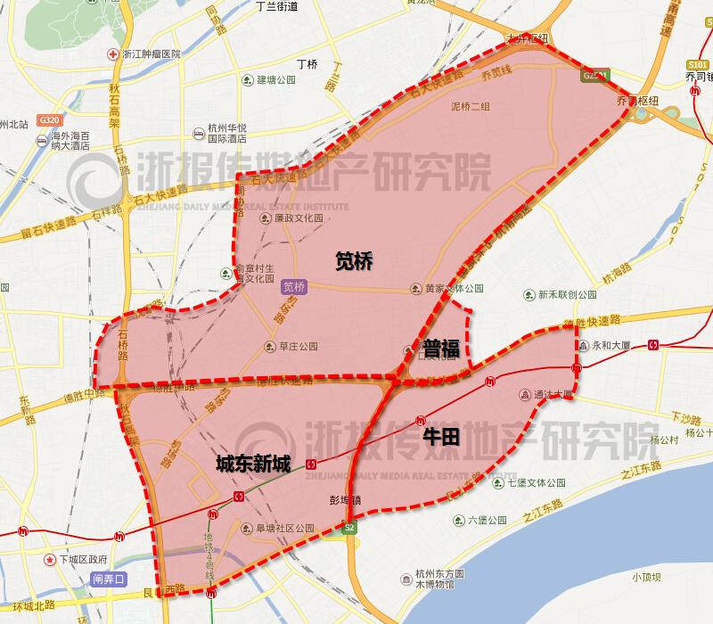 杭州市区分板块供应量现状及趋势报告⑥图片