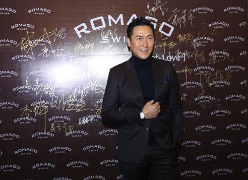 香港知名演员马德钟空降杭城 演绎时尚腕表秀