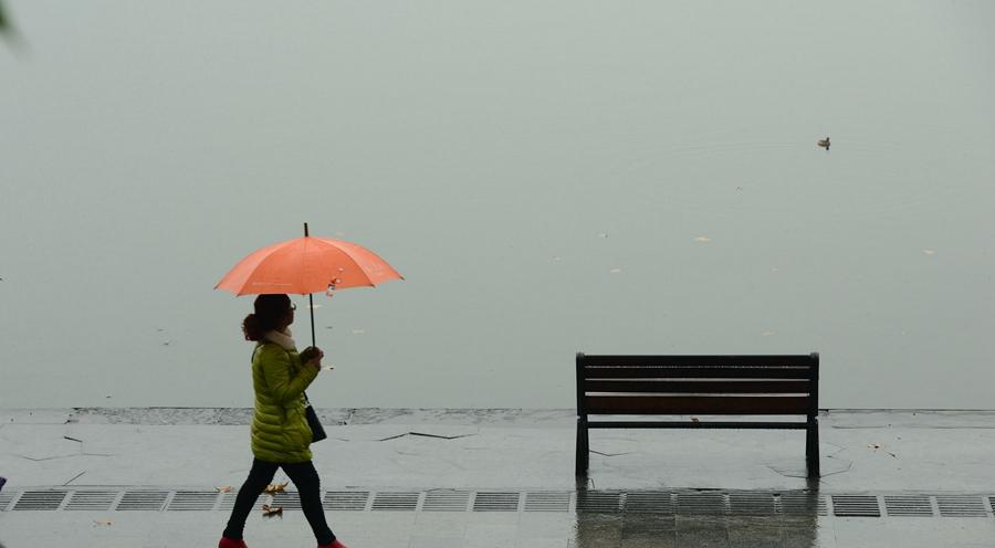 杭州本周最低气温将跌至-1℃