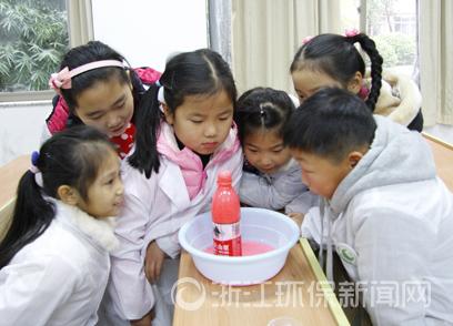浙江环保小卫士:小手拉大手 绘绿社青春