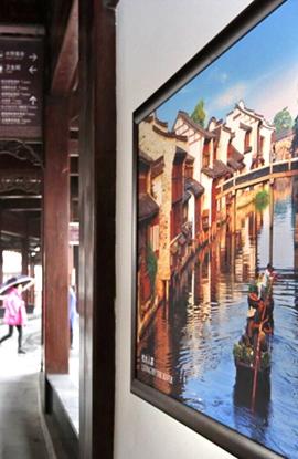高清图集:徜徉乌镇景区遍览美丽浙江