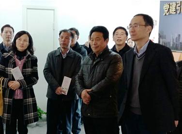 湖南省委组织部来我省考察两新党建工作