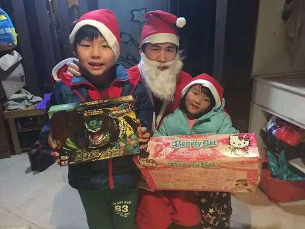 圣诞老人空降蝶园社区-浙江网络联盟-浙江在线