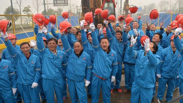 杭州市城际铁路临安项目开工现场