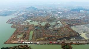 杭州湘湖9月和西湖一样大