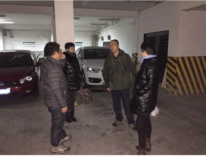 文锦社区开展防雪防冻预案