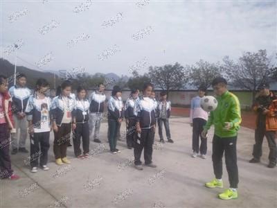 康宝莱携志愿者 给温州滩坑库区学校送温暖