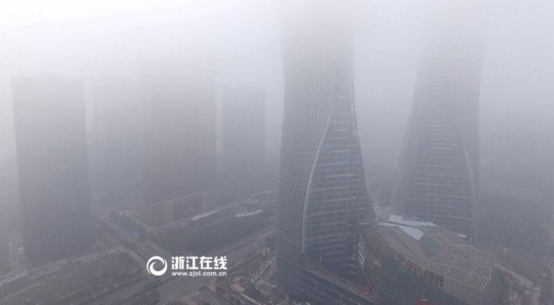 """大半个杭州已经""""被发射""""了"""