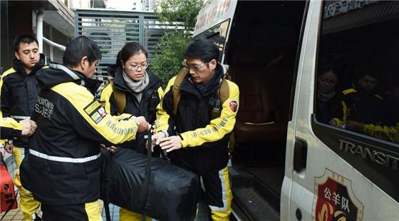 杭州派出大陆首支台湾高雄2.6地震民间救援先遣队