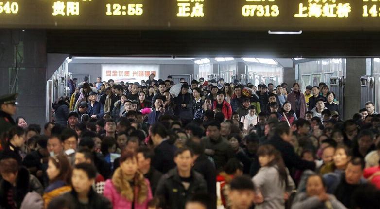 杭州迎来春运返程高峰